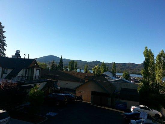 Big Bear Lake Brewing Company : great view