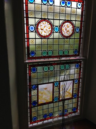 Strongarbh House: Gorgeous stairwell window