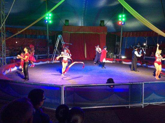 Circus World: During the Circus