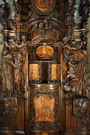 Basilica di Santa Maria Maggiore: Confessional