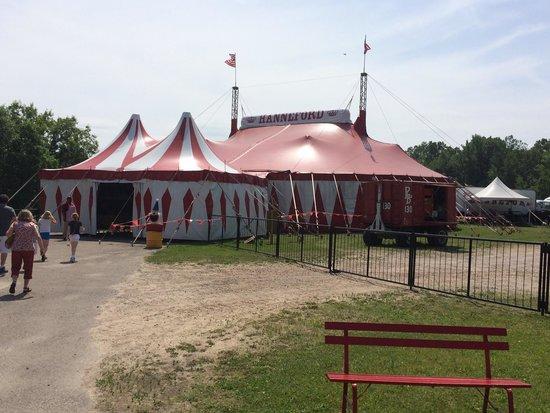 Circus World: The circus tent