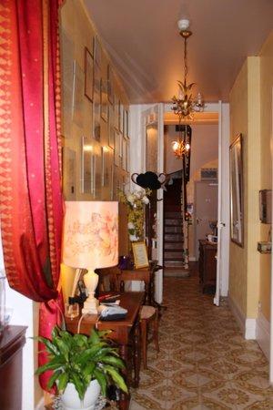 Hotel au Vieux Logis : accueil