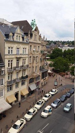Radisson Blu Schwarzer Bock Hotel: view from room
