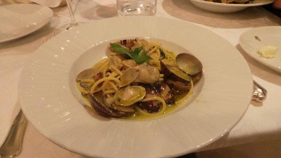 Al Palazzo: massa e frutos do mar simples assim