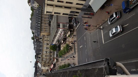Radisson Blu Schwarzer Bock Hotel: view from room