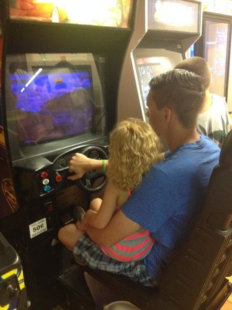 Baumann's Brookside: arcade game fun in rec hall