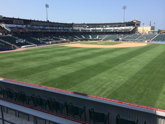 Coca-Cola Park: View from right field