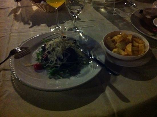 Restaurant Arkada : biff al a rosemarin