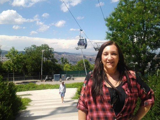 Parc de Montjuic : Vista parque montjuic