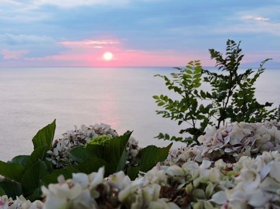 Hotel Arbe: on sunrise
