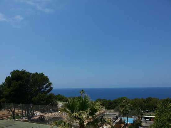 Sun Club Eldorado: Vue de la piscine du haut(ronde)