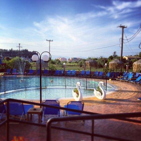 Sidari Water Park Hotel: Del av poolområdet