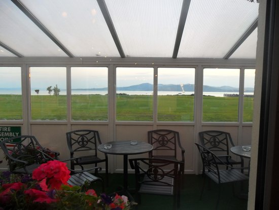 Inishowen Gateway: View from the bar.