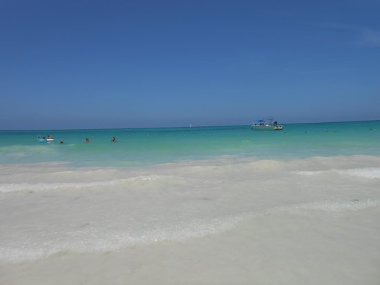 Catalonia Playa Maroma: La plage est magnifique!!!