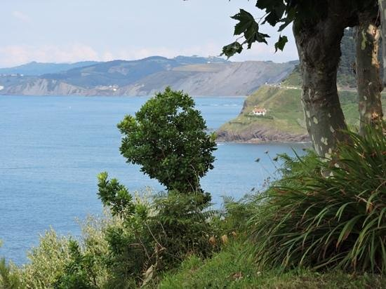 Hotel Arbe: View of the coastline
