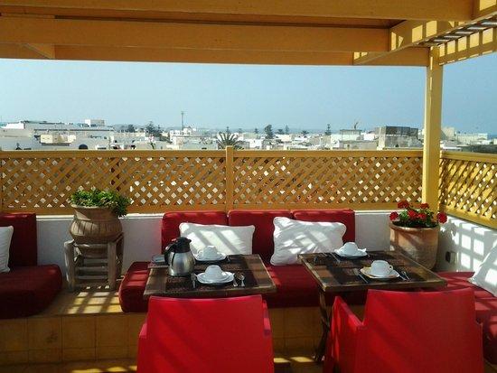 Dar Liouba: La Terrasse
