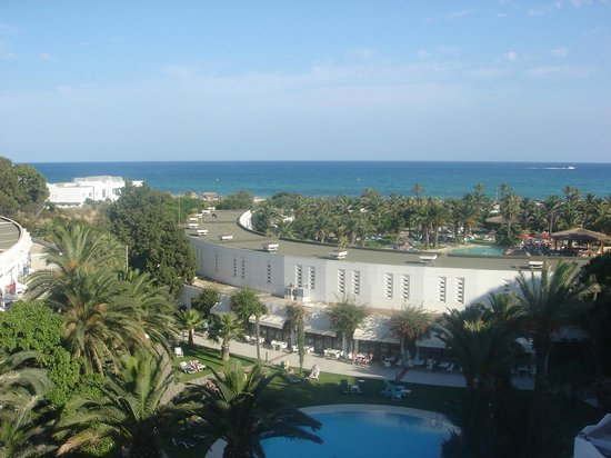 SENTIDO Phenicia: View from viewing balcony on 4th floor