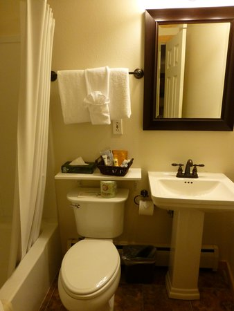 Discovery Lodge: Our bathroom