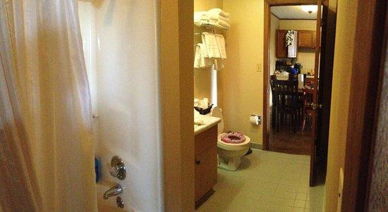 Mountain Breeze Motel: Bathroom