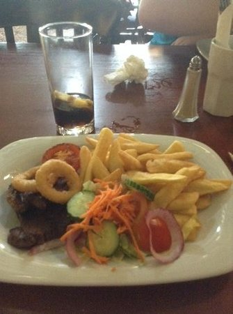 Lilleshall, UK: rump steak