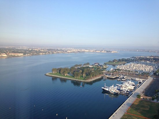 Hilton San Diego Bayfront : Views from Room 2323
