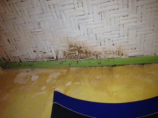 Bunga Bungalo: Plafond de la chambre
