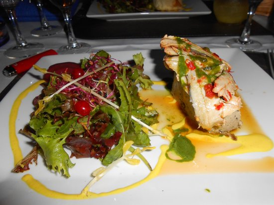 Hotel Lou Caleu: Terrine d'aubergines et anchois