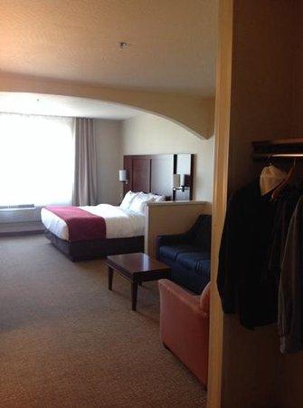 Comfort Suites: Nice Size Room
