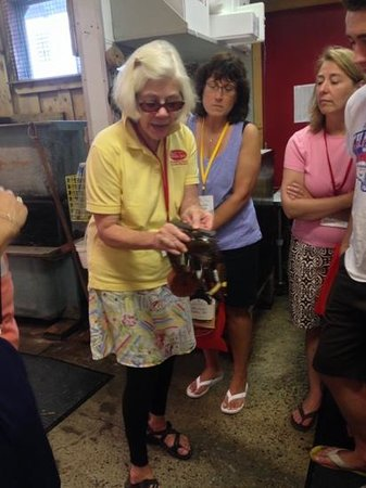 Maine Foodie Tours - Culinary Walking Tours : fish market