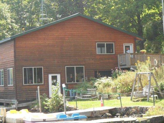 Virgin Timber Resort : Lodge