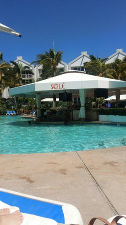 Renaissance Aruba Resort & Casino: Swim up bar at the ocean suites building