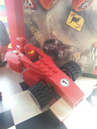 LEGOLAND Discovery Center Chicago : Lego Indy Car