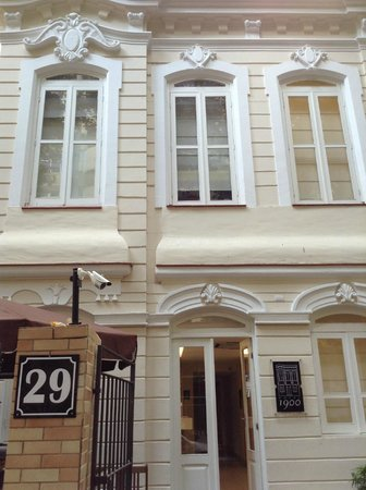 Hotel 1900 : Fachada classuda