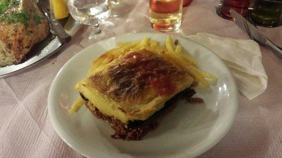 Taverna Katerina: Moussaka