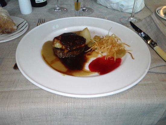 Arroka Berri: solomillo al foie
