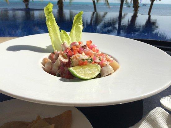 Zoetry Villa Rolandi Isla Mujeres Cancun: Ceviche