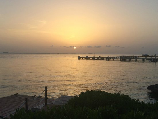 Zoetry Villa Rolandi Isla Mujeres Cancun : Sunset view from Casa Rolandi