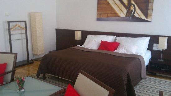 Domus Balthasar Design Hotel: Bed
