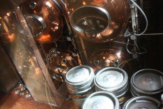 Pilsner Urquell Original Restaurant Tradice: Their micro brewery onsite