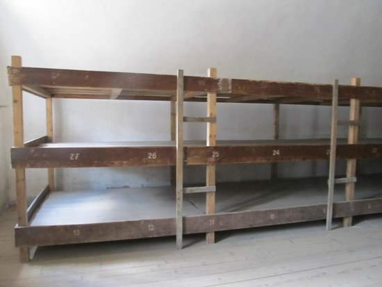 Terezín Memorial: Inside sleeping quarters