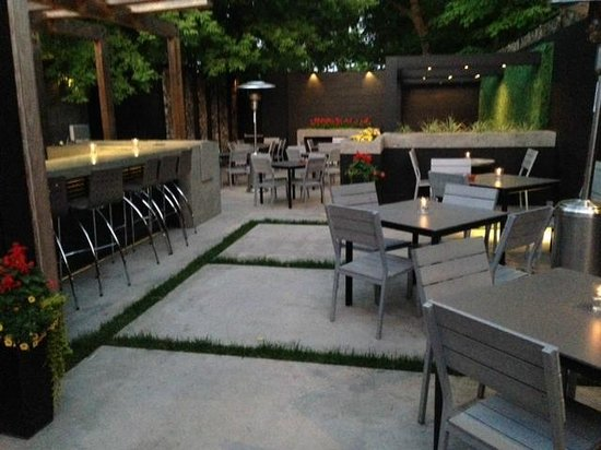 Sisi: A Beautiful Evening On The Patio! New Outdoor Bar At Sisi On Main