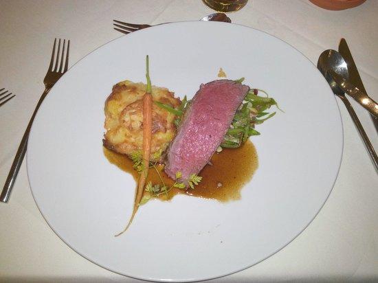 Un piatto così lo si può gustare al Parkhotel Residence o lo si può sognare!