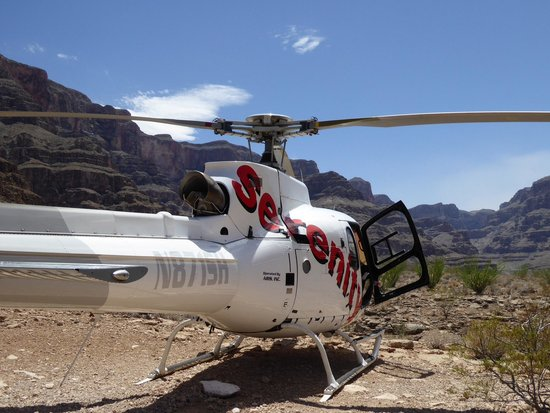 Serenity Helicopters : Time for lunch