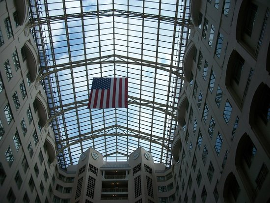 Grand Hyatt Washington: Atrium