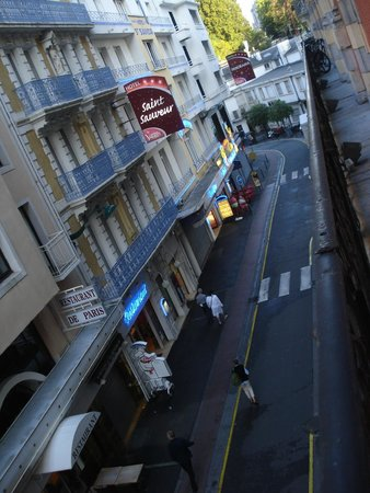 Grand Hotel Moderne: View from balcony