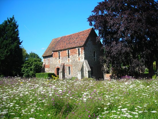 Greyfriars Chapel and Franciscan Gardens: The Greyfriars Chapel And Wildflower Meadow