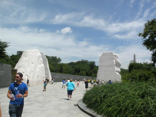 Martin Luther King, Jr. Memorial: Split Rock Mountain