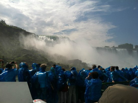 Maid of the Mist: on board