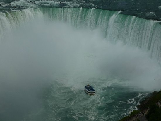 Maid of the Mist: in horseshoe falls
