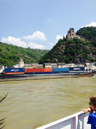 Rheintal: Rhine valley castles